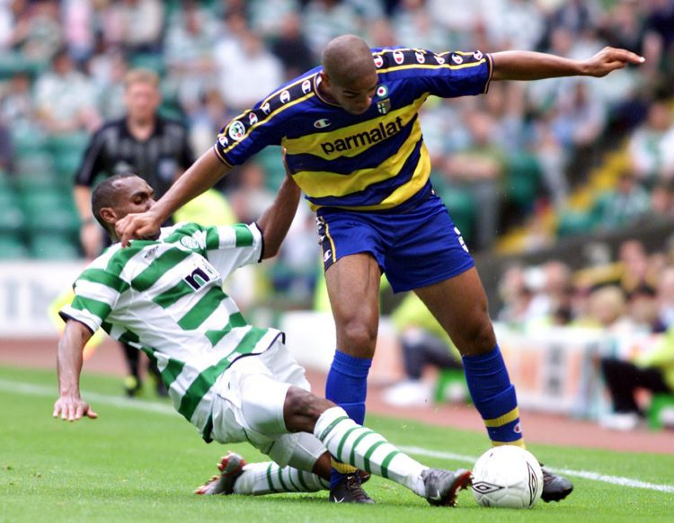 You don't tackle Adriano