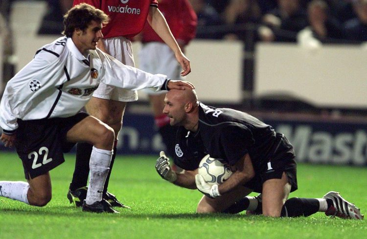 Rubbing Fabien Barthez's head was known to bring good luck among footballers