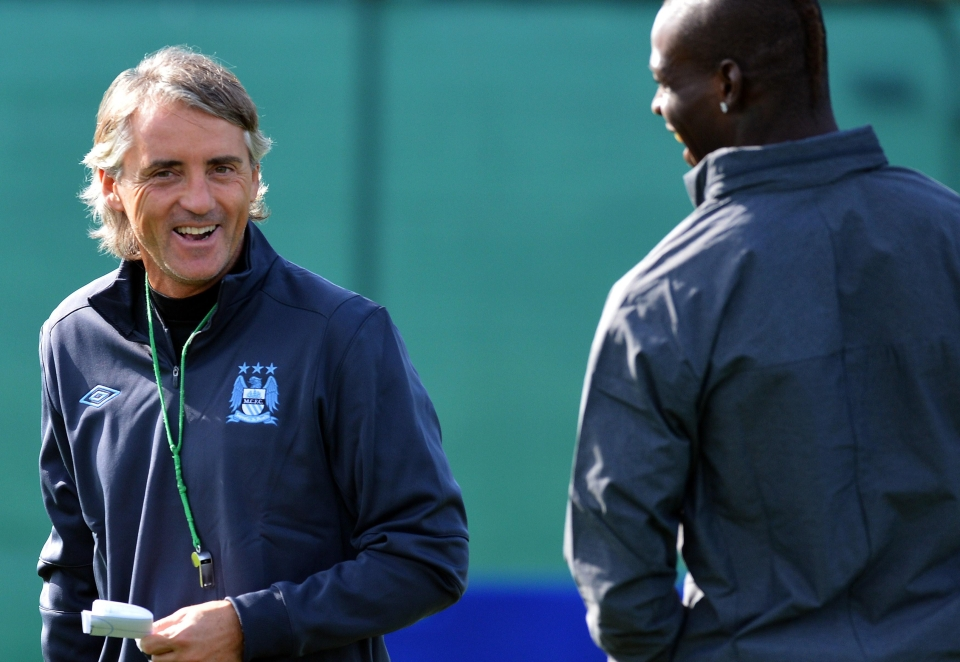 Mancini is remembered for clashing with his players during training sessions