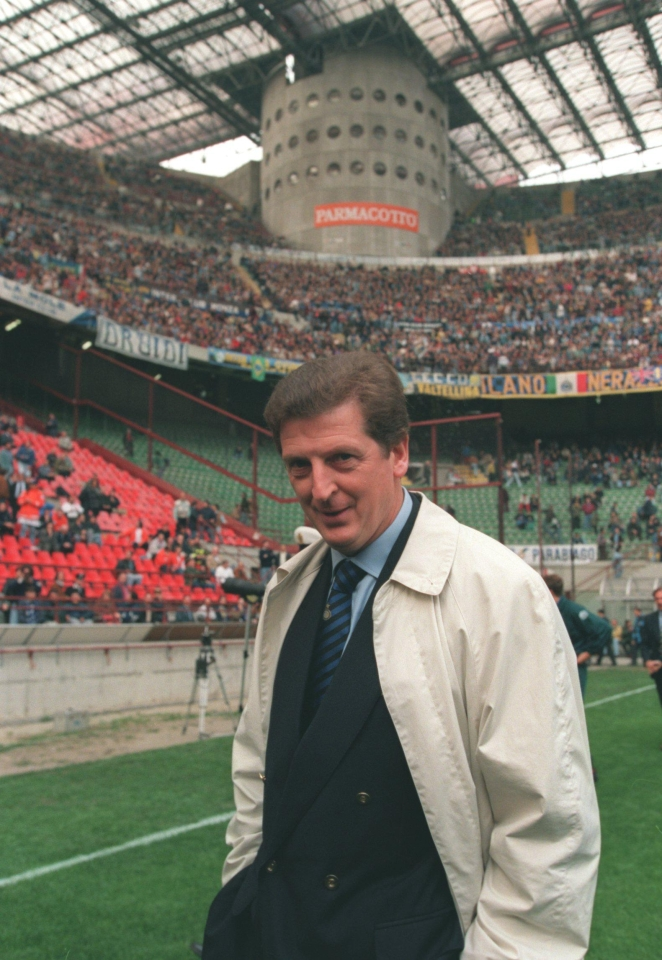 Hodgson was manager of Inter between 1995–1997