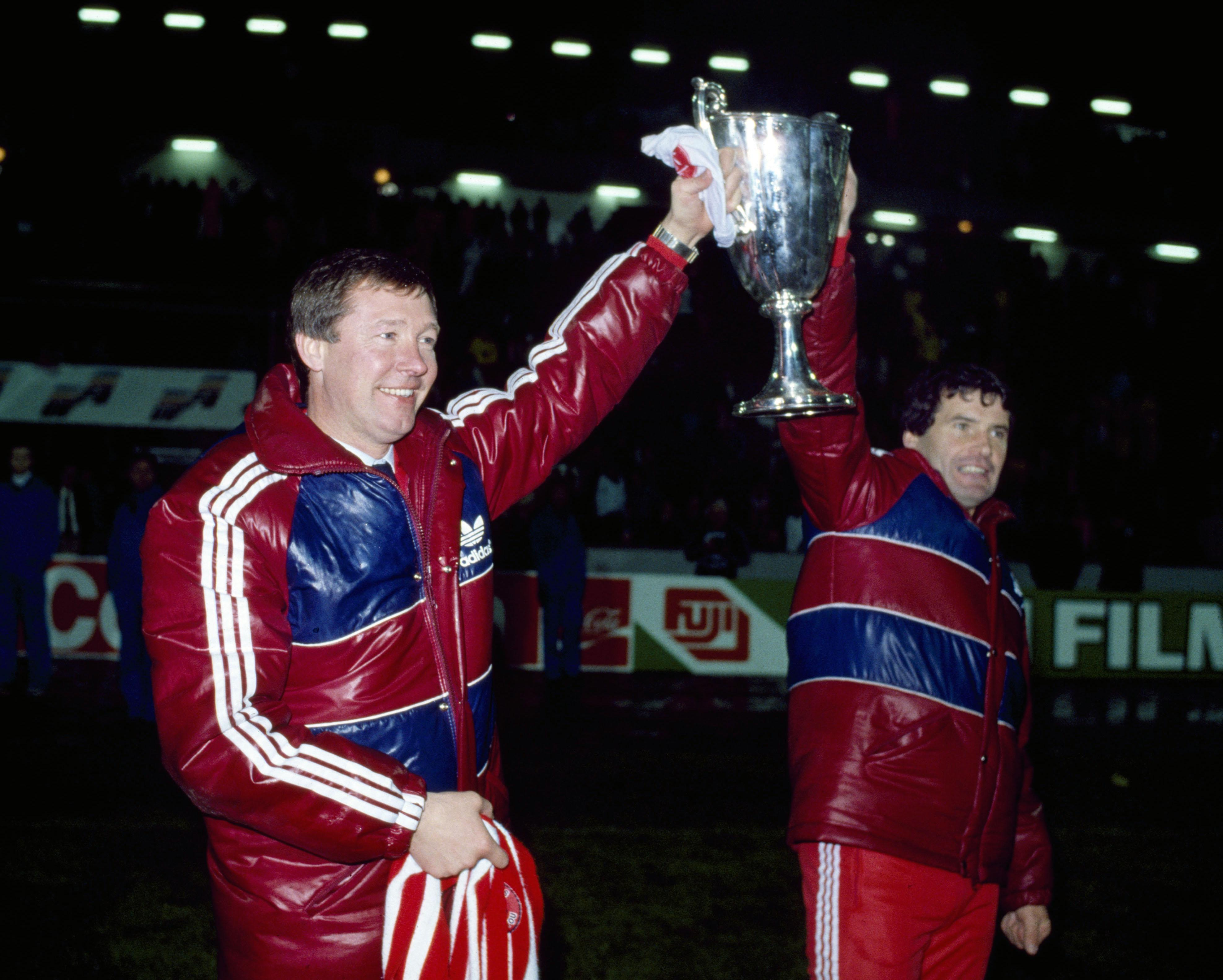 Fergie won the European Cup Winners' Cup with Aberdeen