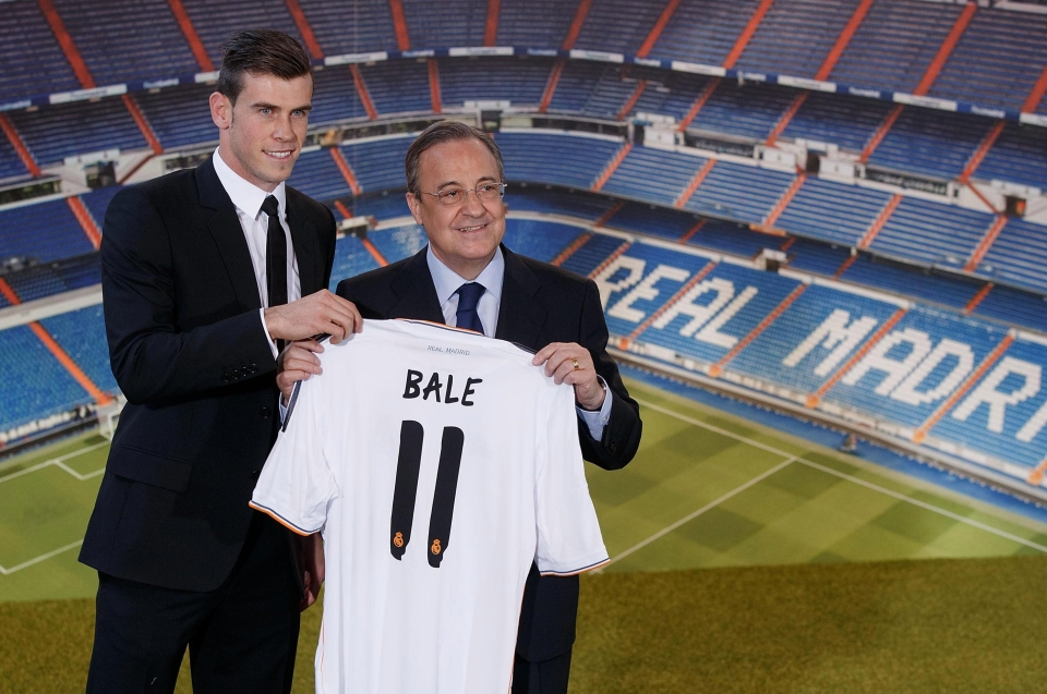 Just the £85million for Bale back in 2013…