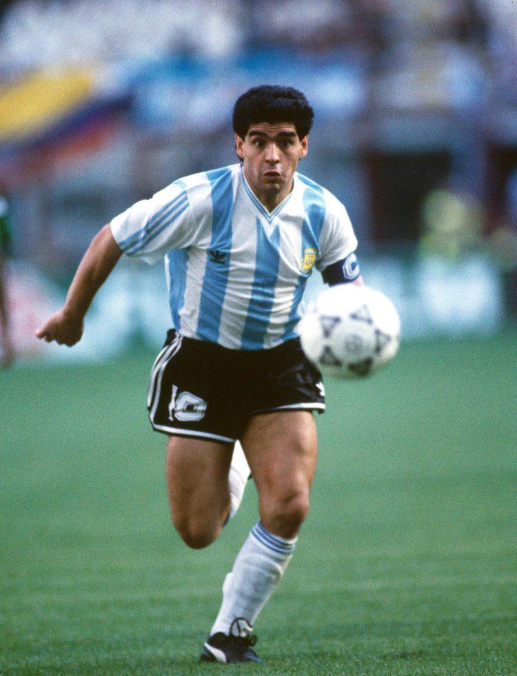 Diego in full flight