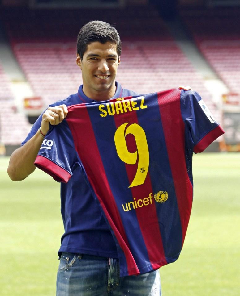 Suarez has found plenty of success at Barcelona