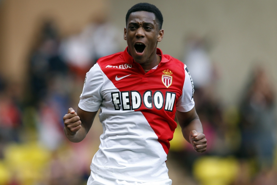 Martial joined United for record-breaking fee for a teenager in the summer of 2015