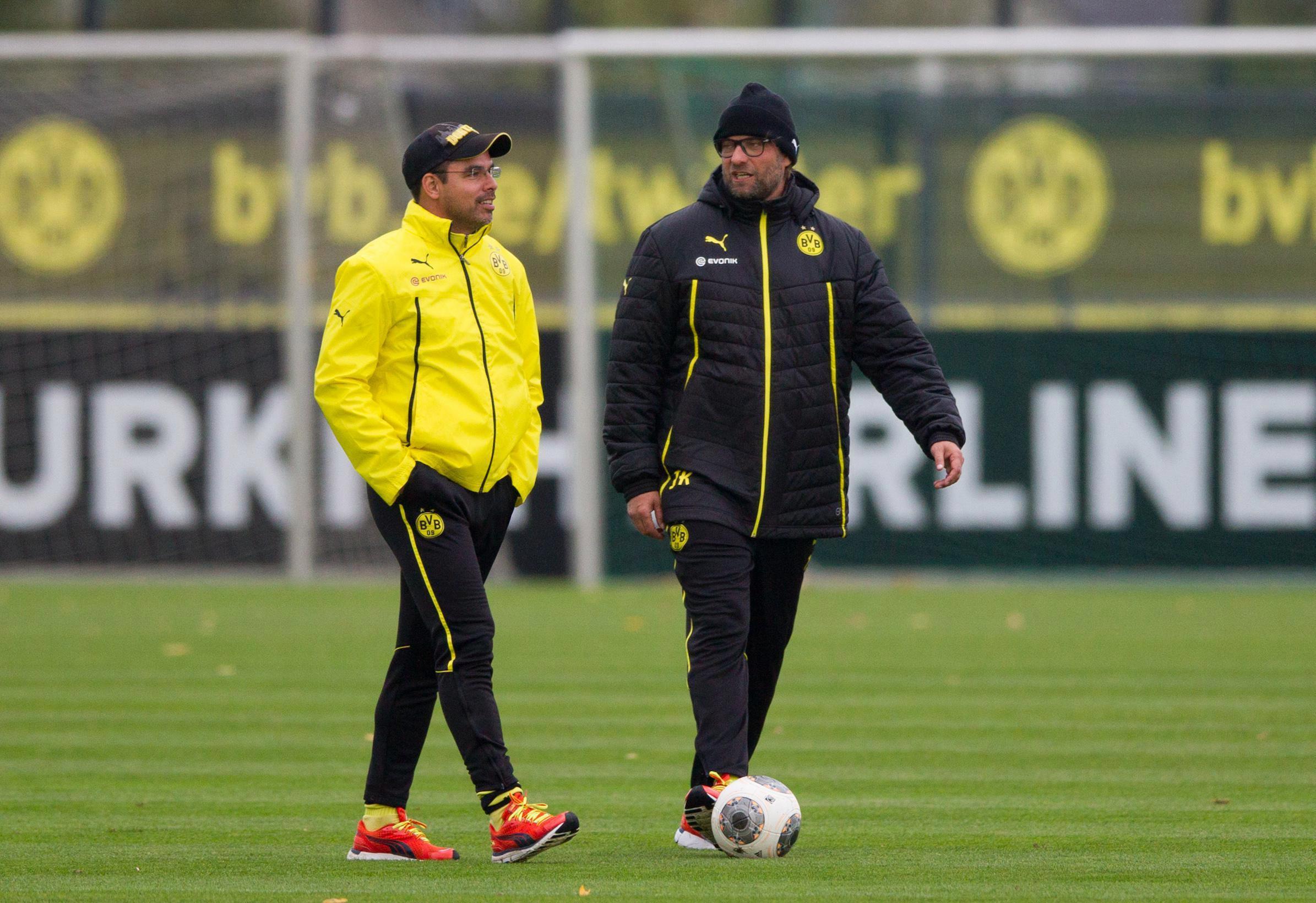 Klopp spent seven years building at Dortmund