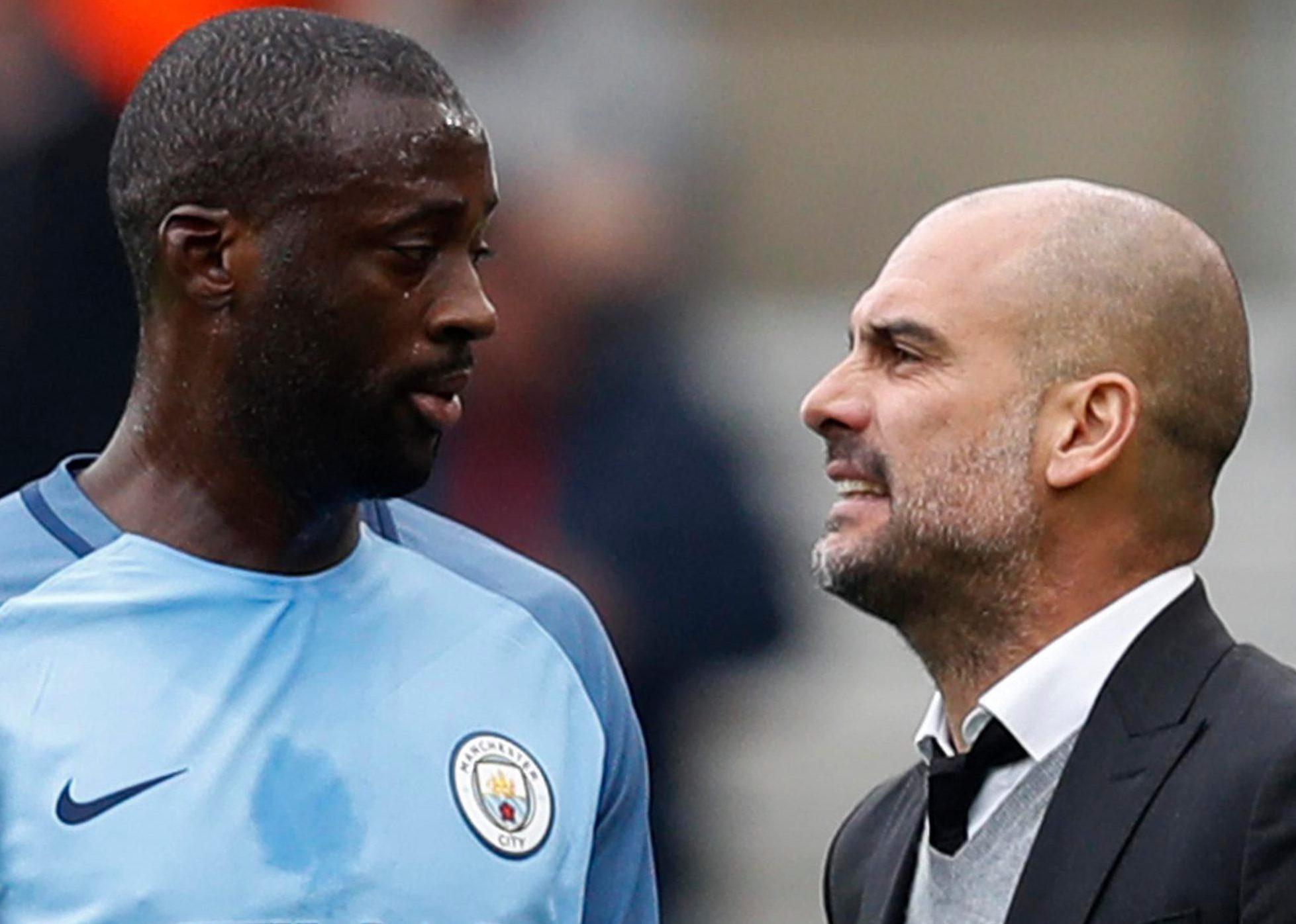 Pep Guardiola and Yaya Toure criticised the Mitre Carabao Cup ball