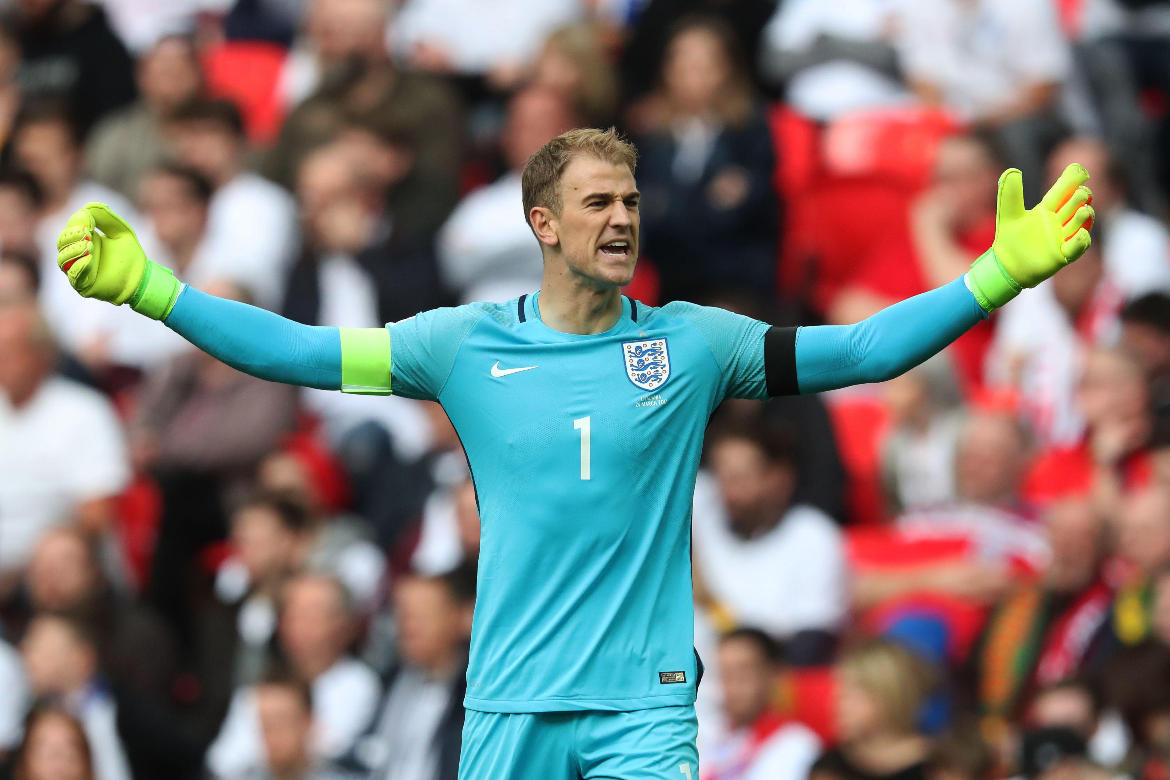 Goalkeeper Joe Hart has also taken on the captaincy under Gareth Southgate