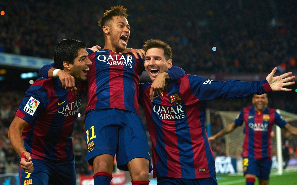 Neymar left Luis Suarez and Lionel Messi for PSG in the summer window