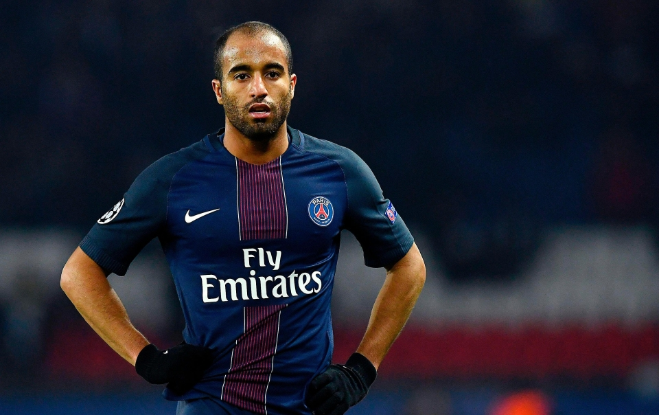 Lucas Moura has struggled for game time