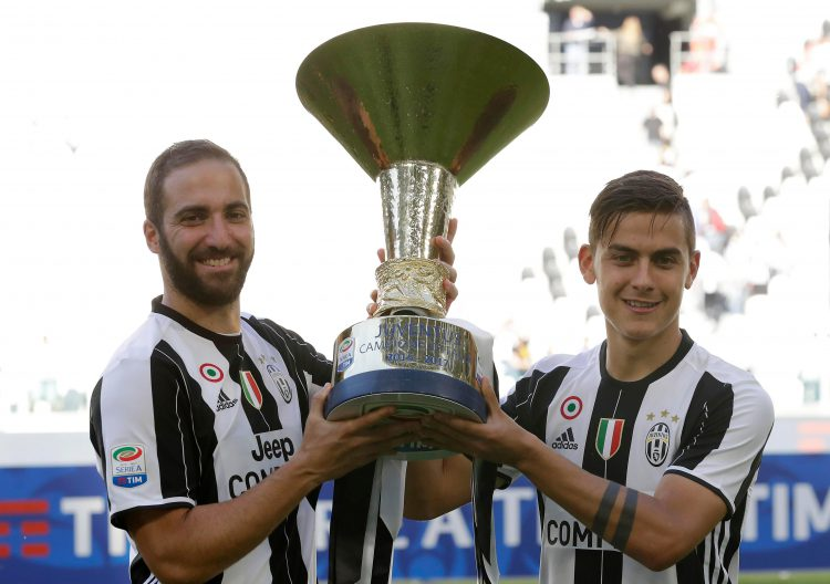 Just the 30 league titles for Juventus