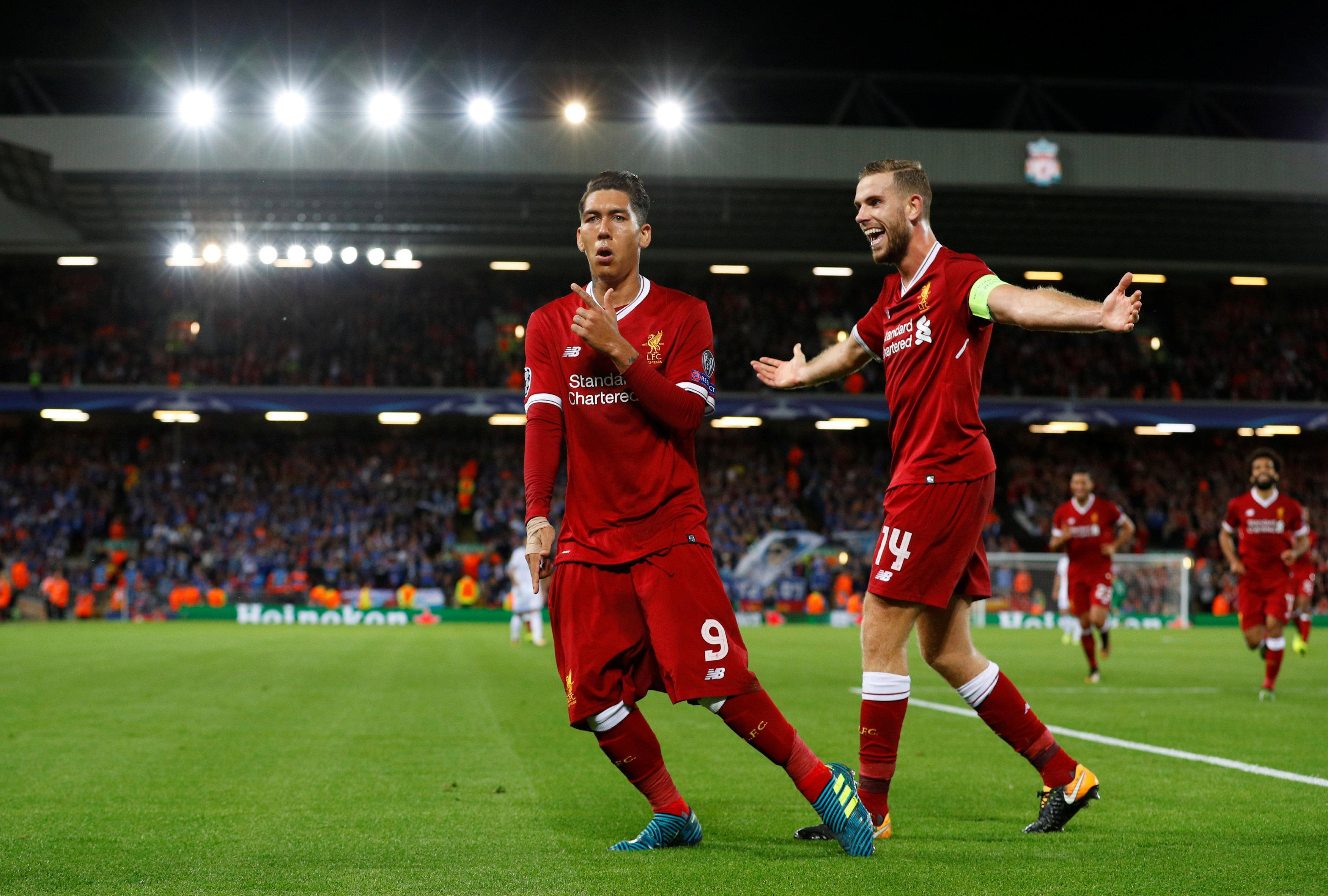 Roberto Firmino is hoping for bigger and better things in his next 100 games