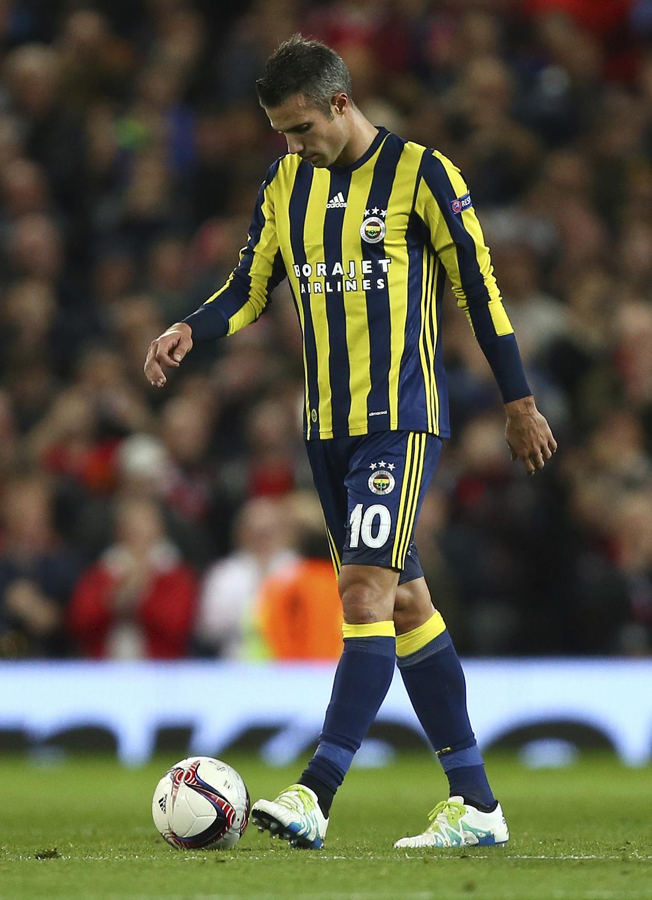 The Dutchman has endured a less-than-impressive spell in Turkey