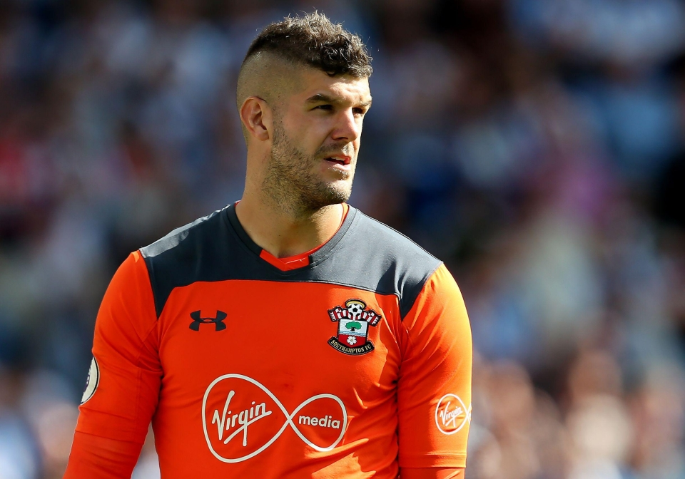 Forster saved a penalty from Saido Berahino last weekend