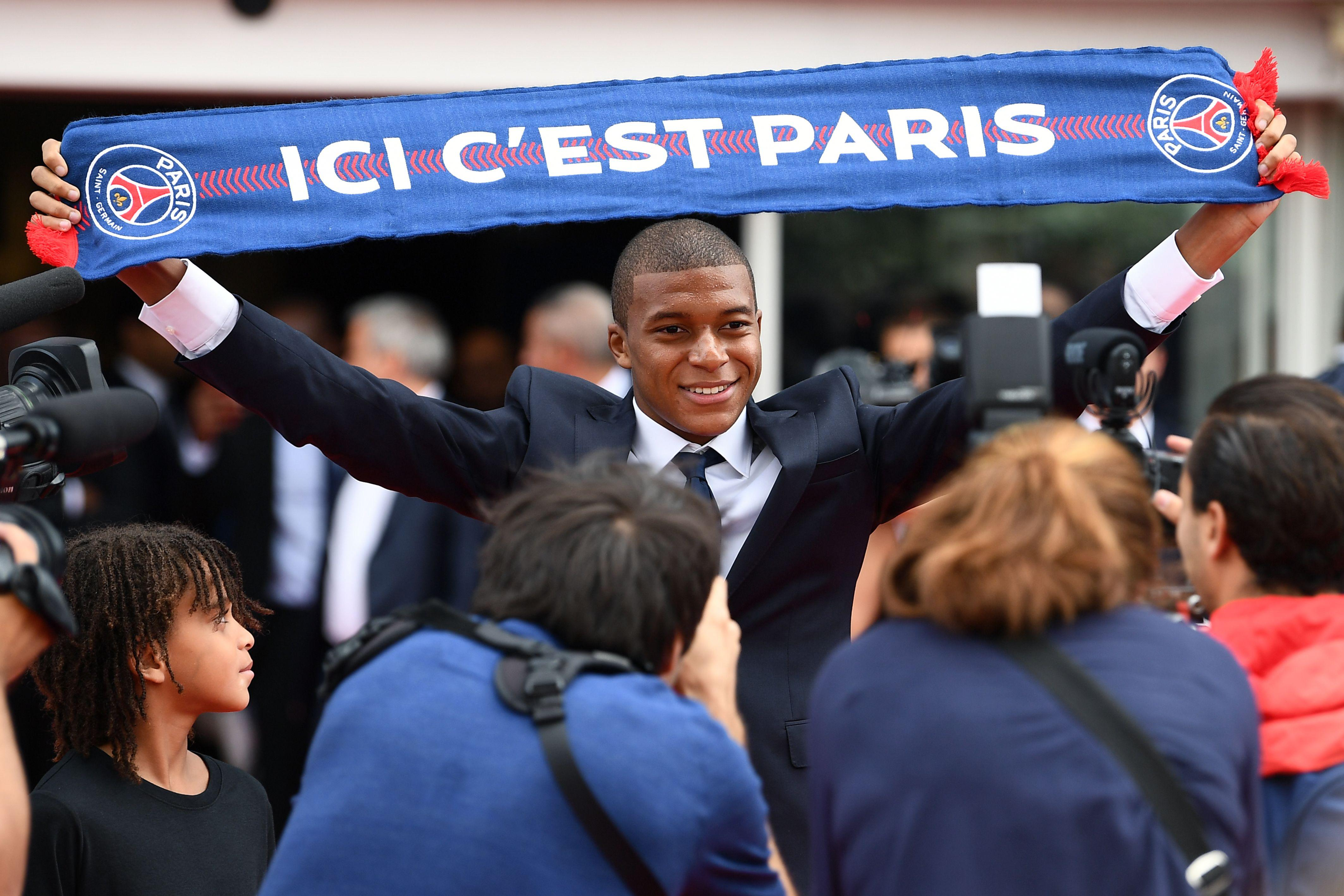 Mbappe's deal to PSG is reflected in the new game