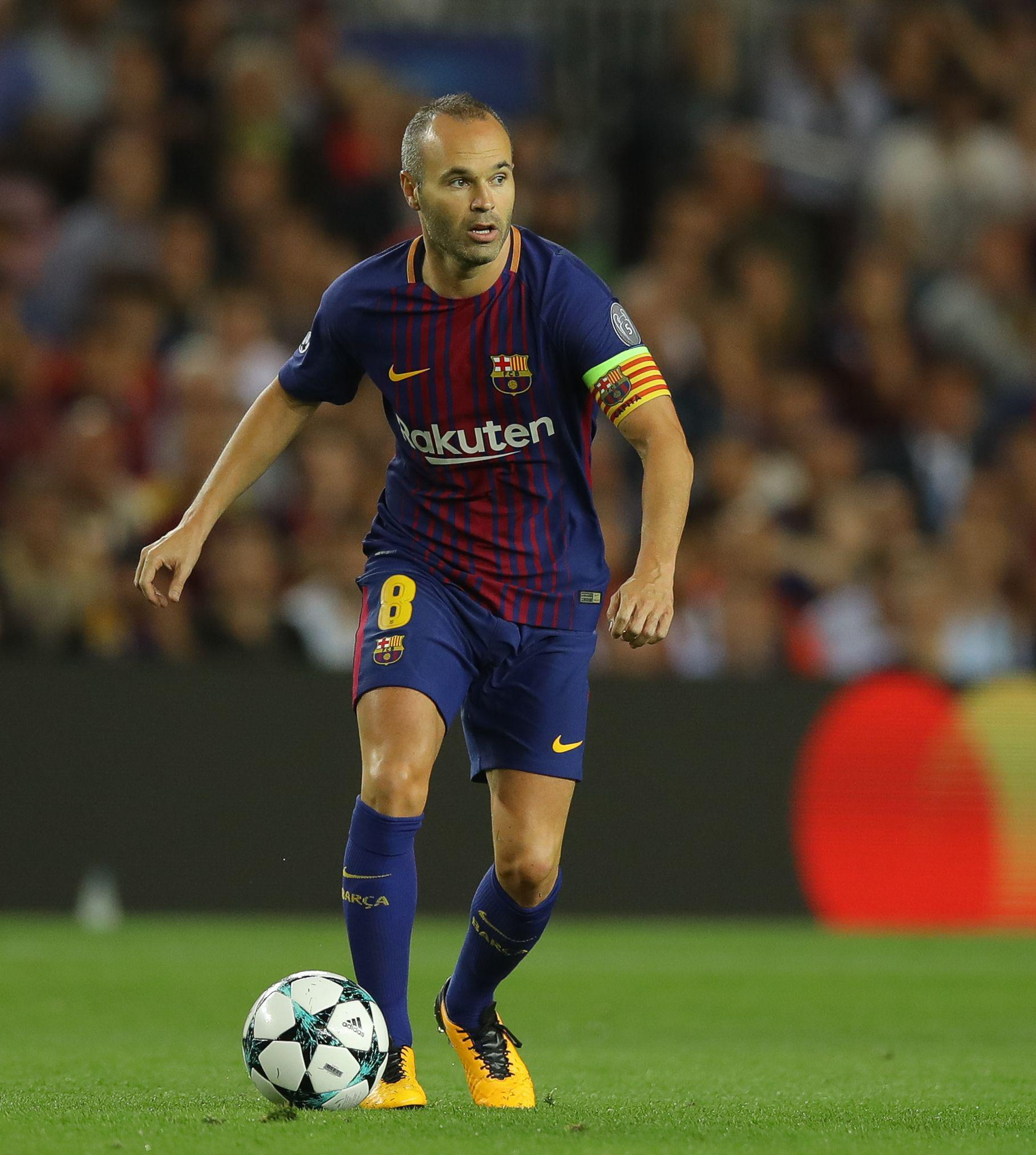 Andres Iniesta has been the benchmark for a midfielder over the past decade