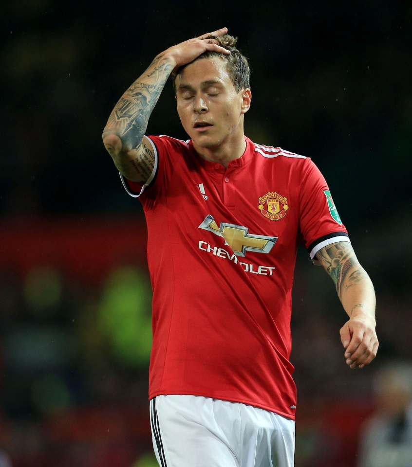 Victor Lindelof has endured a rocky start to his Man United career