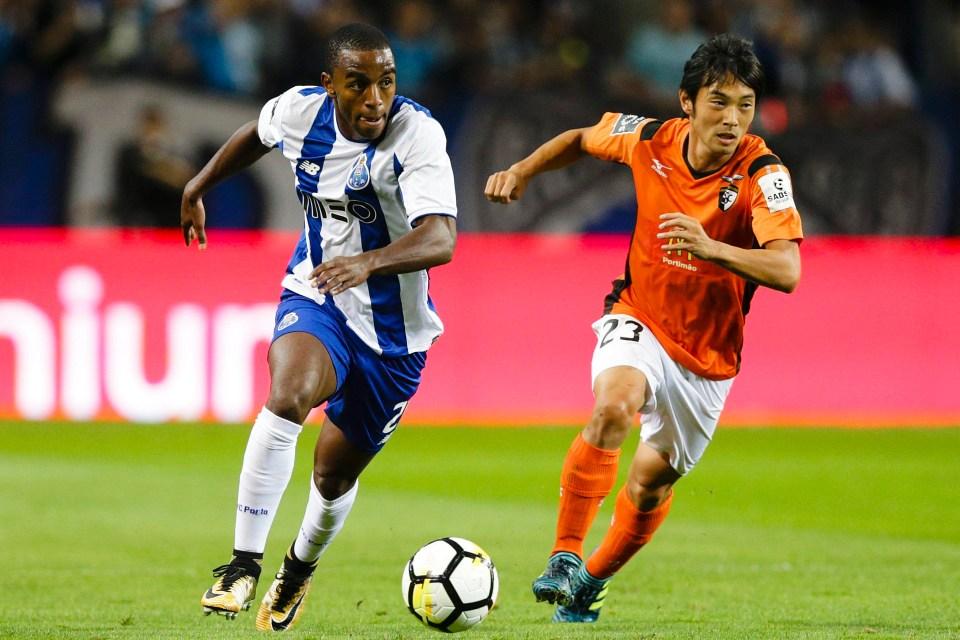 Pereira is back at Porto this season