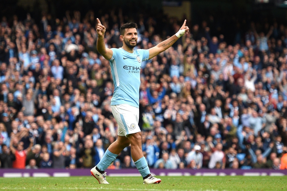 Sergio Aguero is wanted by AC Milan in a January mega deal