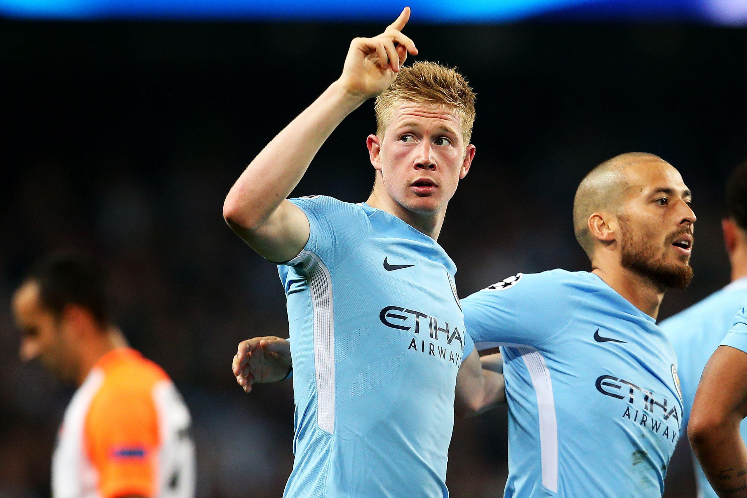 Manchester City ace Kevin De Bruyne has been in inspired form for the Citizens this season