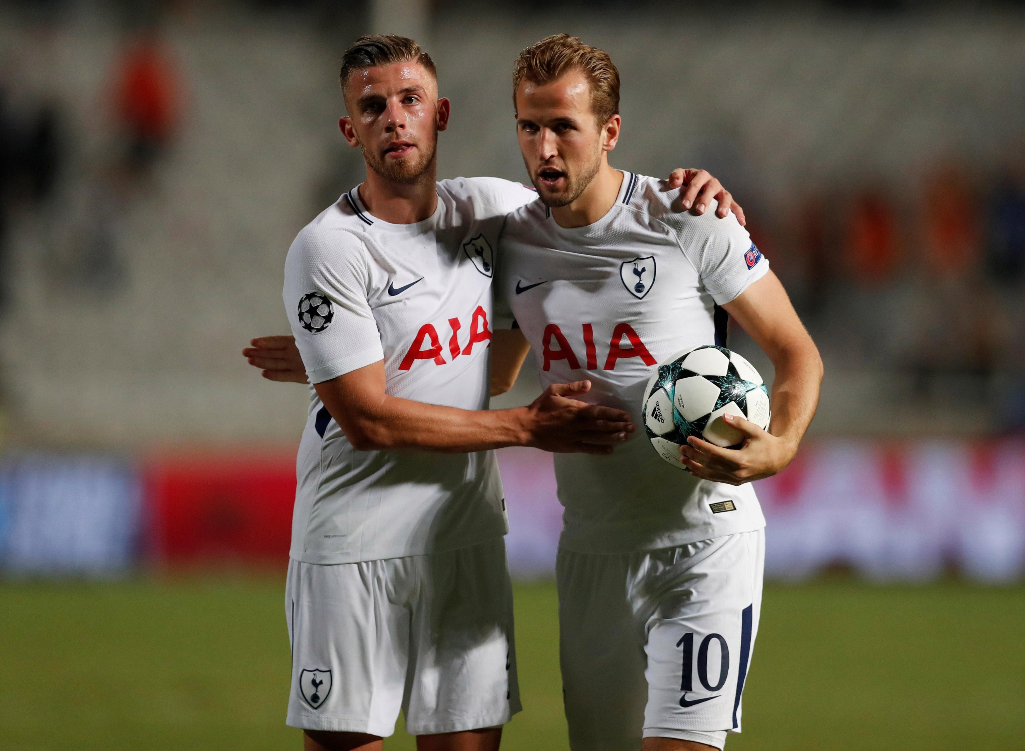 Toby Alderweireld earns less than half of star names such as Harry Kane