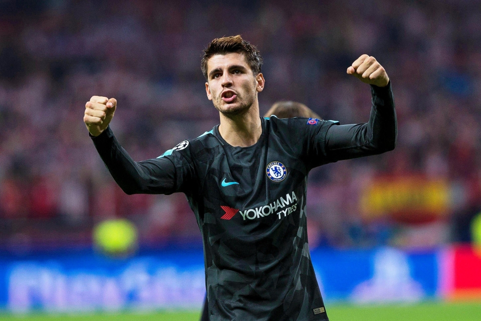 Morata has scored seven goals already for the Blues