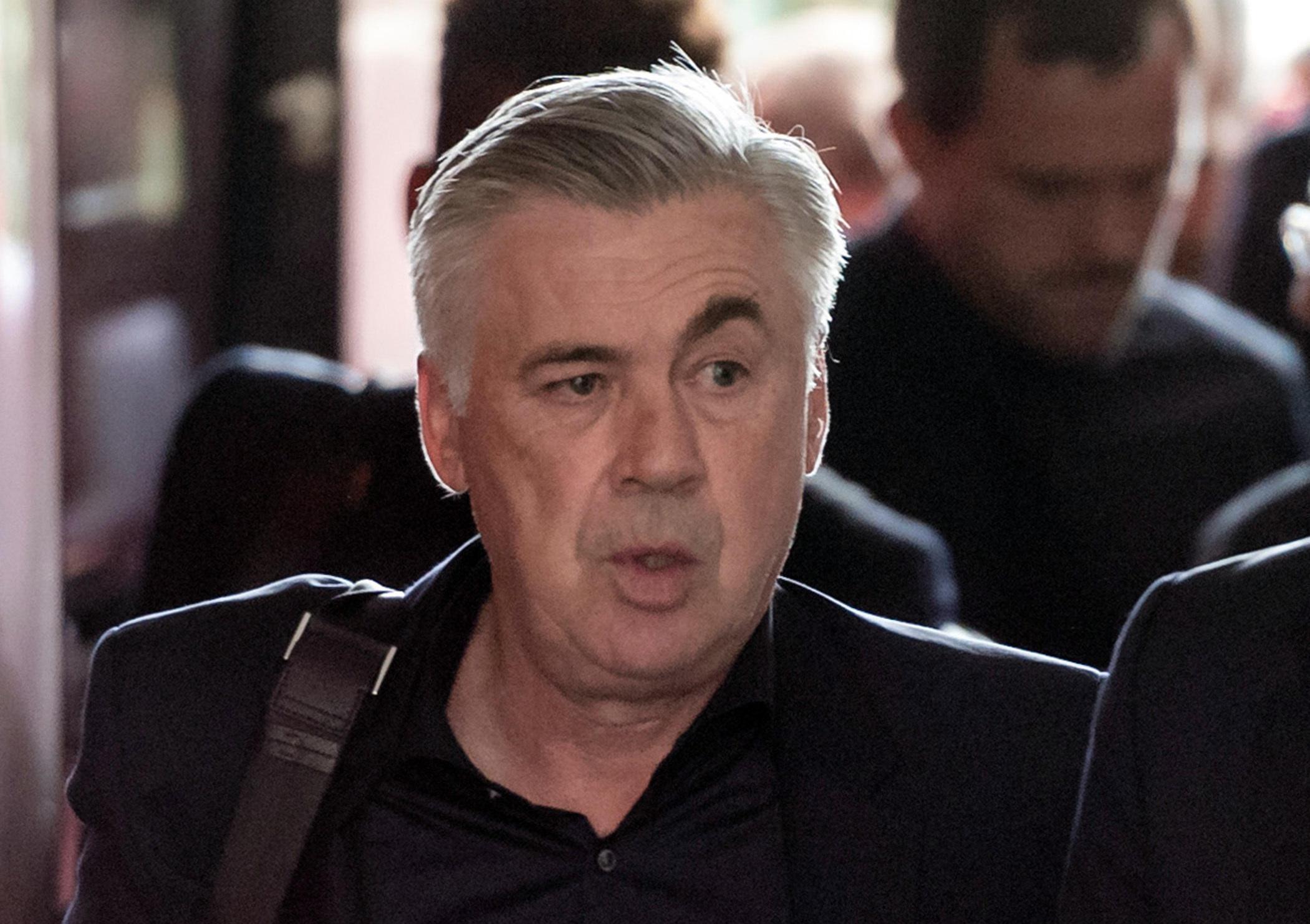 Carlo Ancelotti was sacked by Bayern Munich last week following PSG drubbing