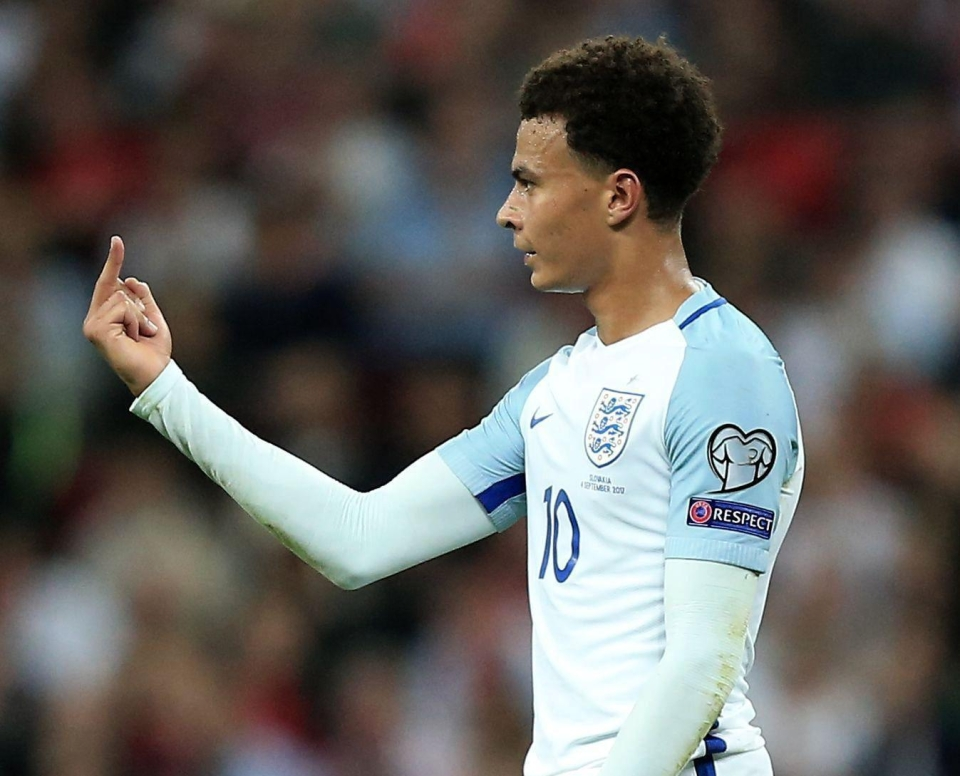 Dele Alli has been told that England's World Cup hopes could hinge on his good behaviour in Russia