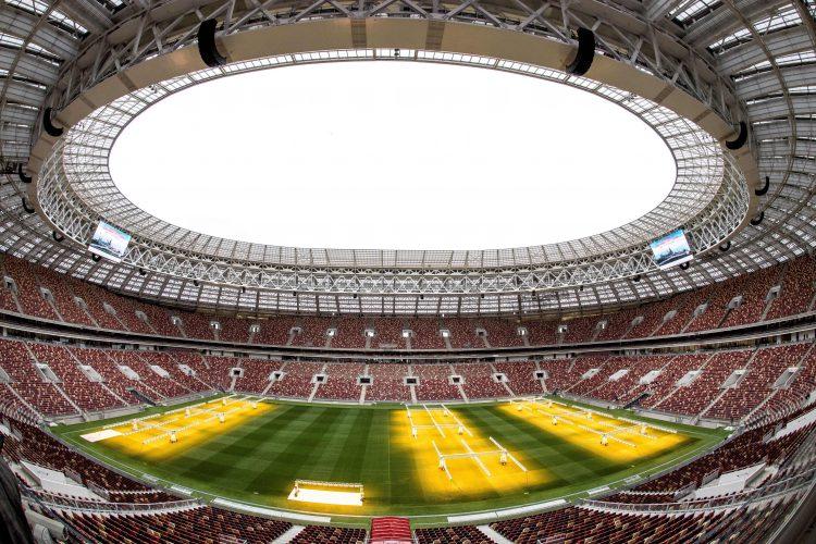 The Luzhniki stadium is Russia's biggest