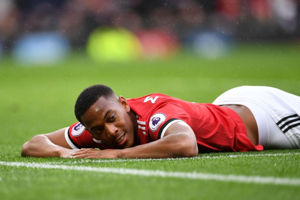 Martial has been a regular source of goals and assists this season