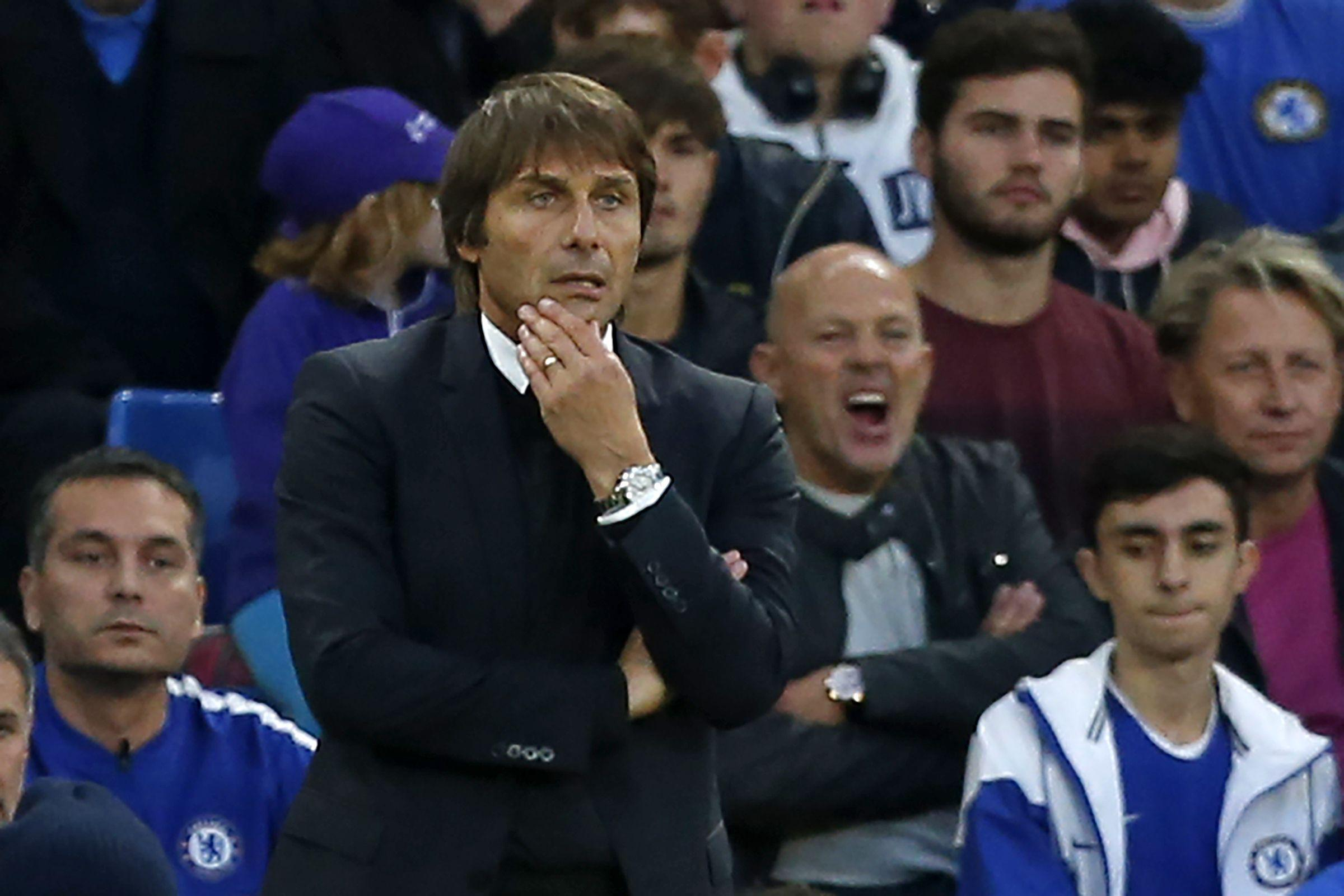 Antonio Conte is now facing a striker crisis at Stamford Bridge