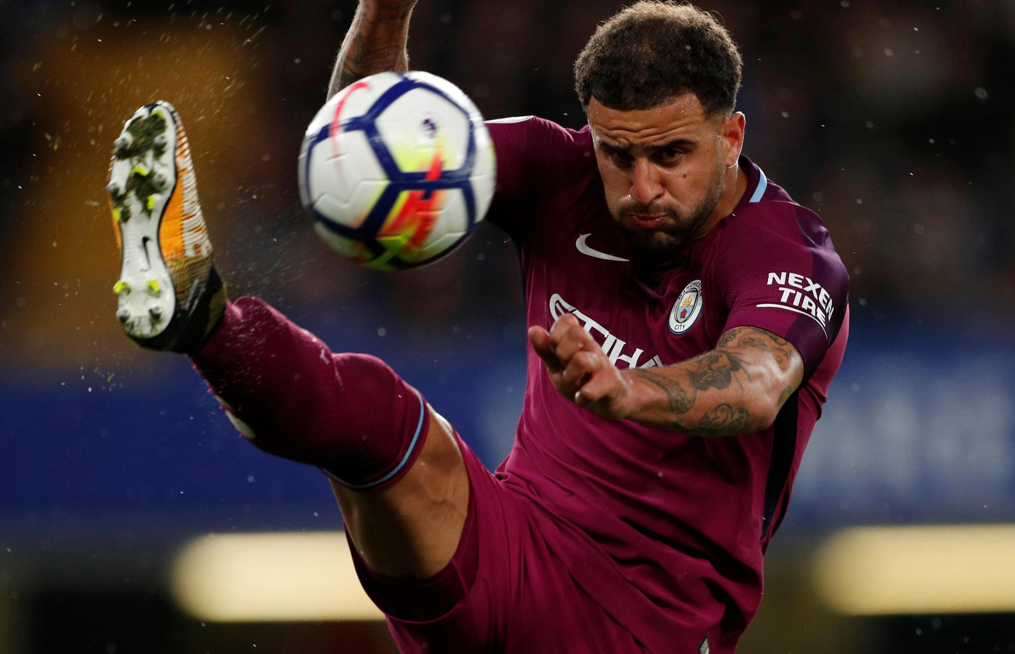 Kyle Walker is flying for Man City this season