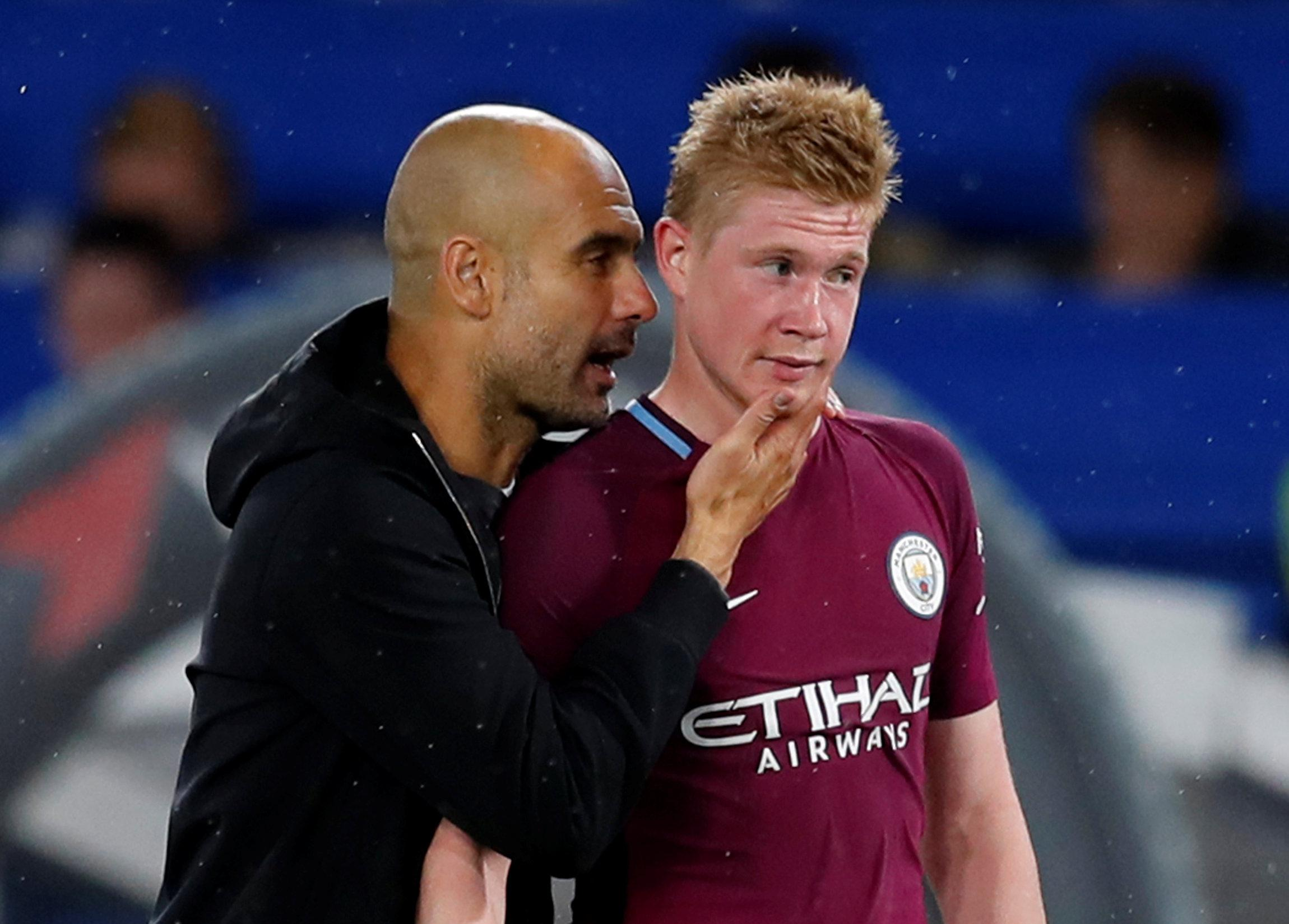 De Bruyne is the perfect general to execute Guardiola's battle plan