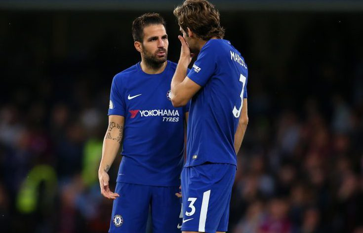 'You shouldn't have admitted it Cesc'