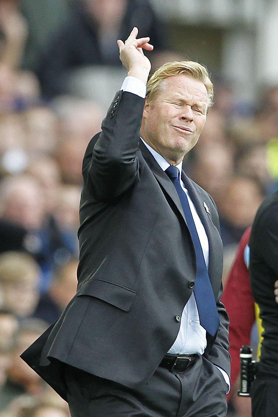 Ronald Koeman knew the pressure would be on after spending over £100m this summer