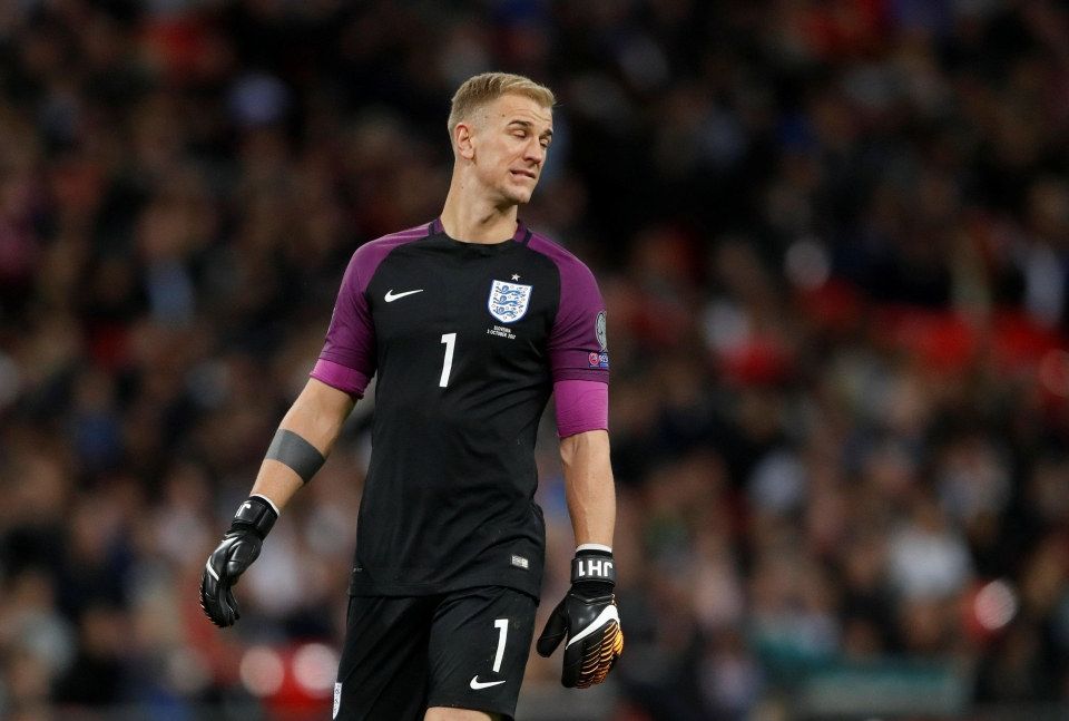 Why do we still have to see this man between the sticks?