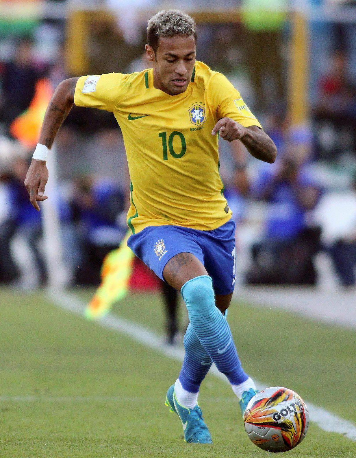 Neymar is a prime example of a modern-day footballer who has risen to the very top through the international age groups
