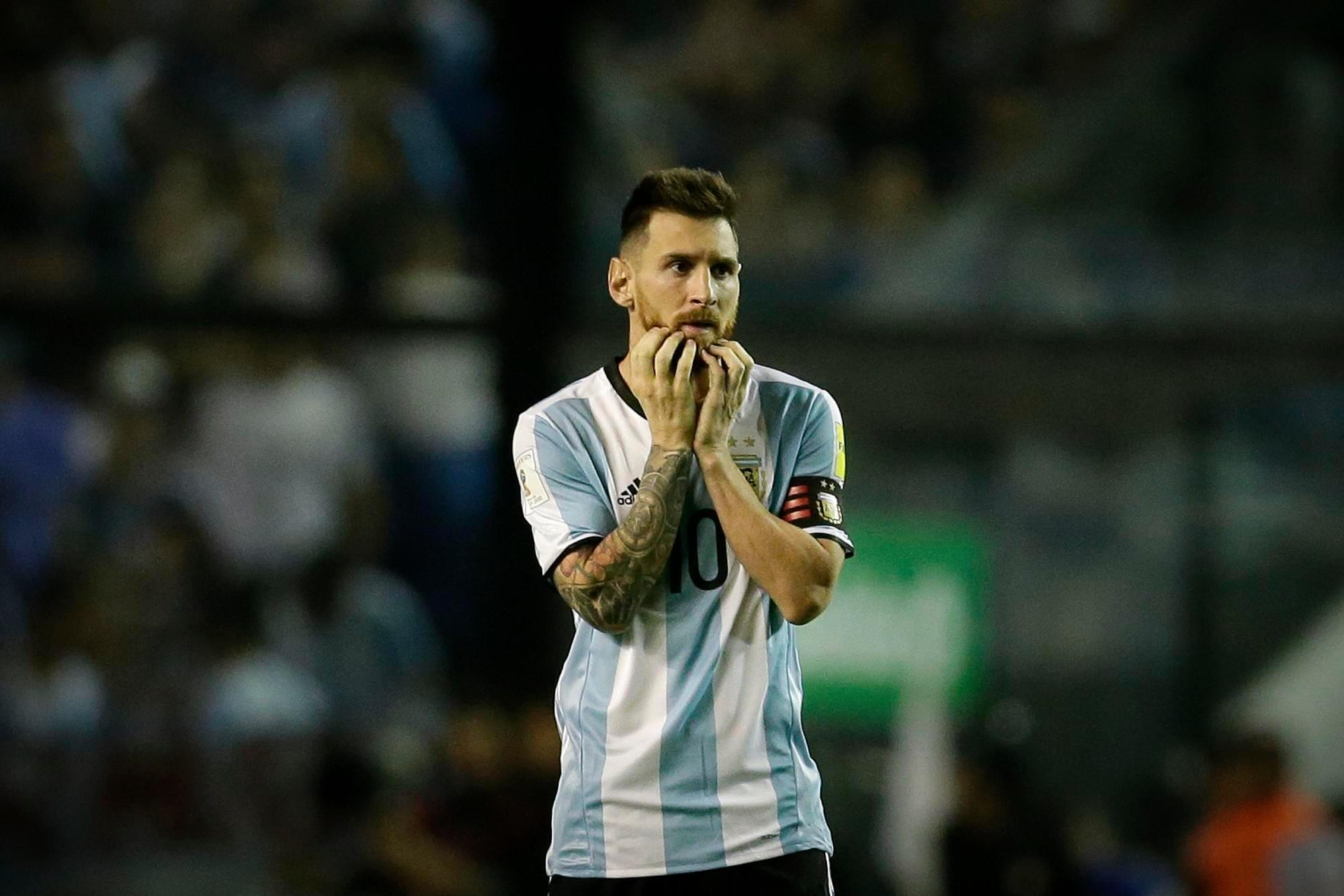 Argentina have one more game to stay in with a chance of making it to Russia