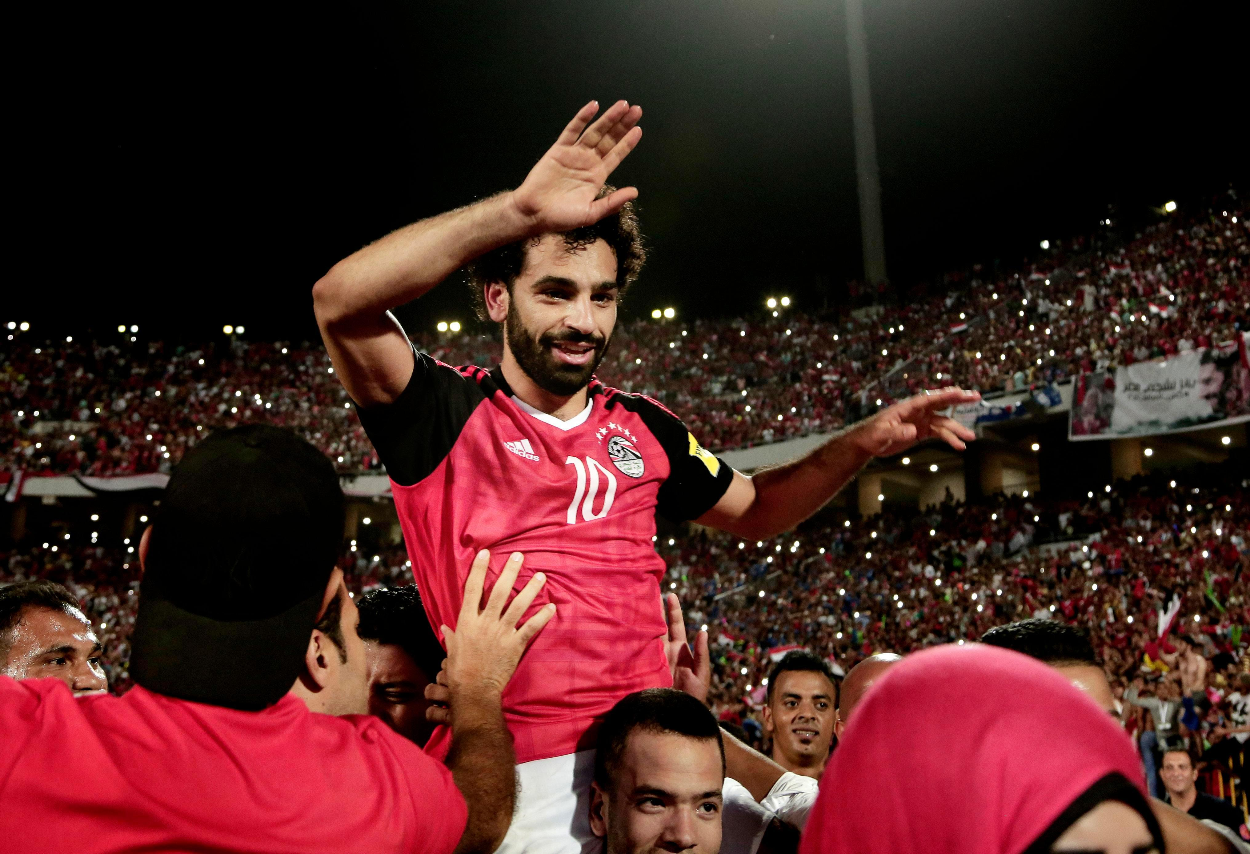 Mohamed Salah has been honoured back in his hometown