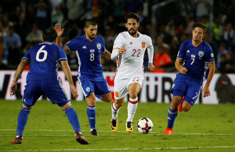 How many Israelis does it take to stop Isco?