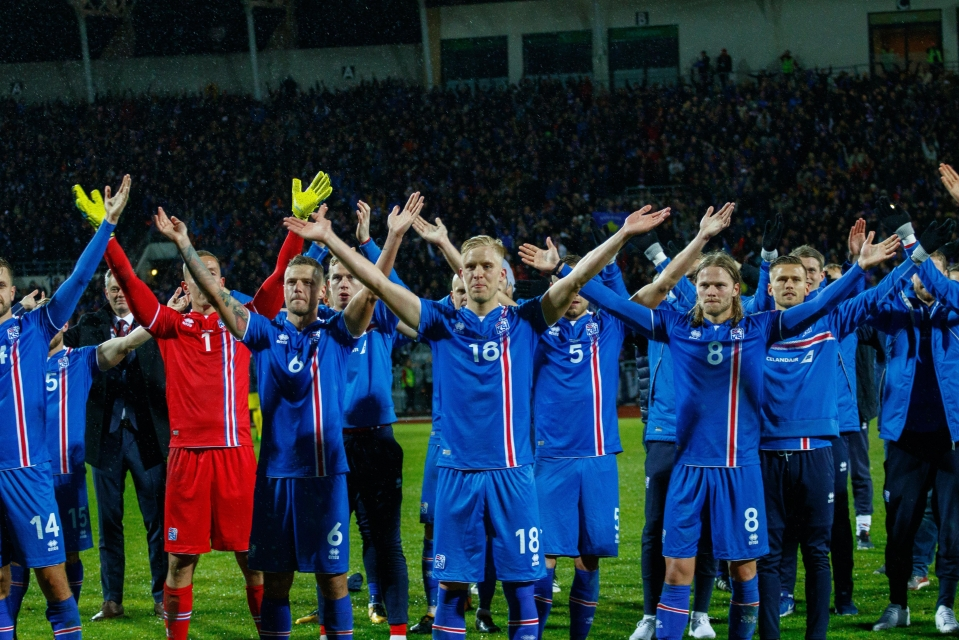 Iceland secured qualification to their first-ever World Cup on Monday