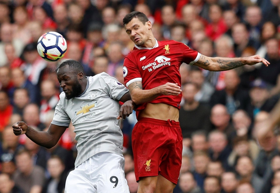 Lukaku was expertly nullified by Liverpool's defence