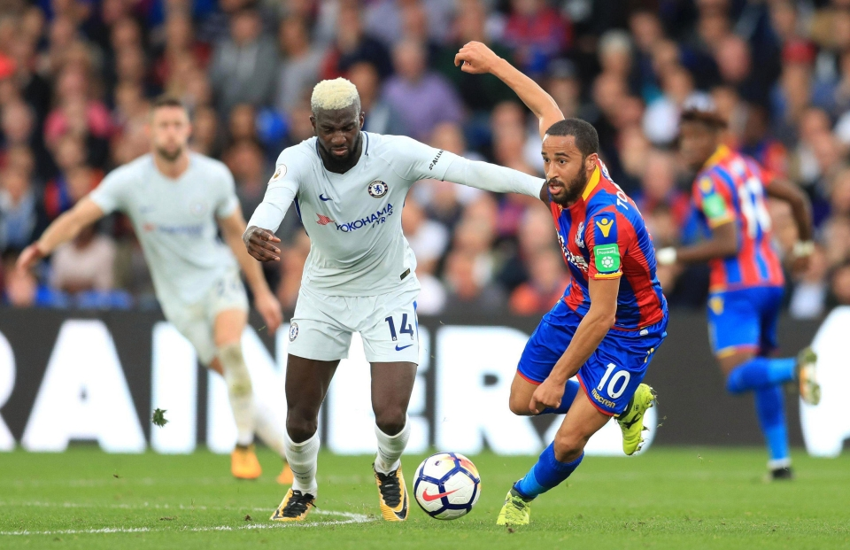 France midfielder Tiemoue Bakayoko has enjoyed his first season in the Prem and insists Chelsea were his dream team to join Blues level at Selhurst Park - meaning he had to change his hair colour