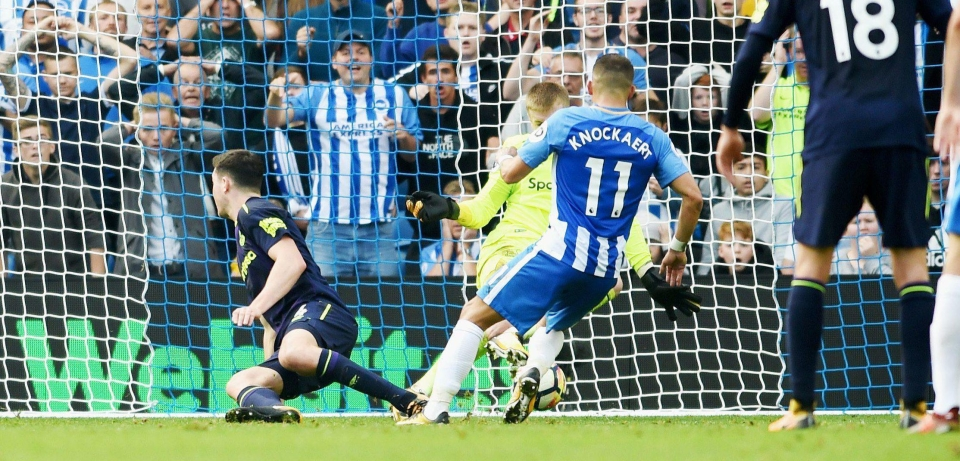 Winger Anthony Knockaert has impressed Glenn Murray, not least with his opener against the Magpies