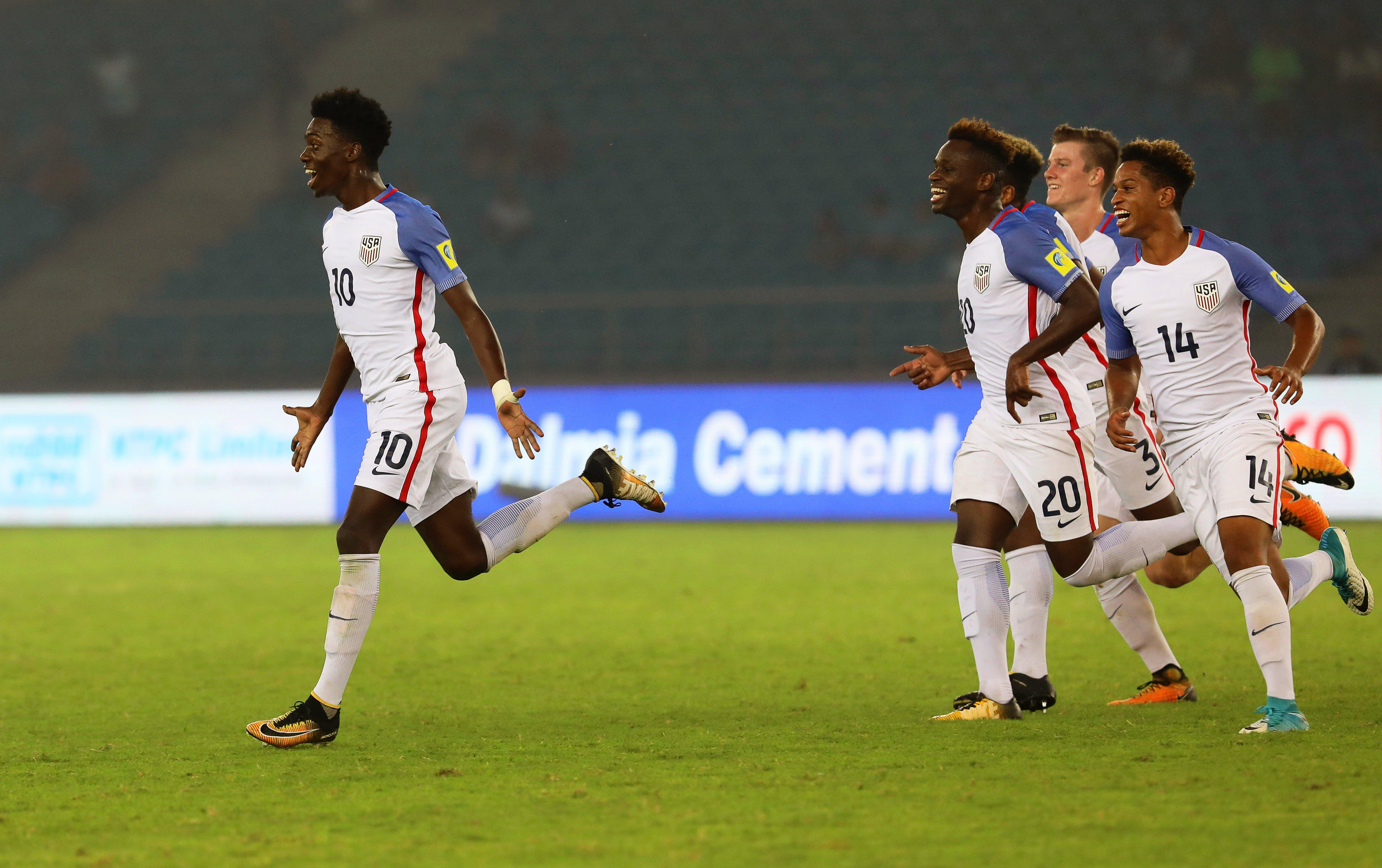Weah looks like a future star for USA