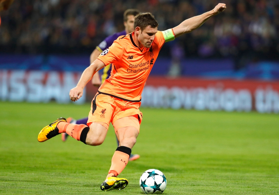 Milner was brilliant in Slovenia
