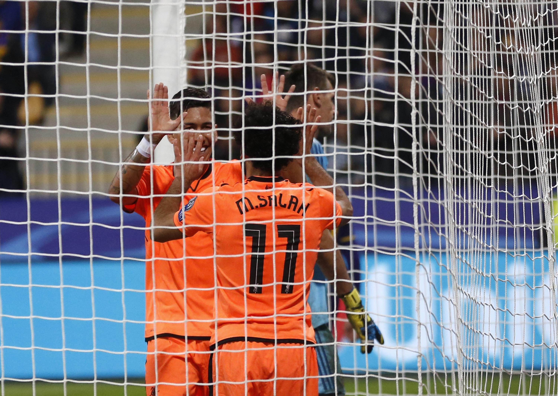 Firmino and Salah both scored twice