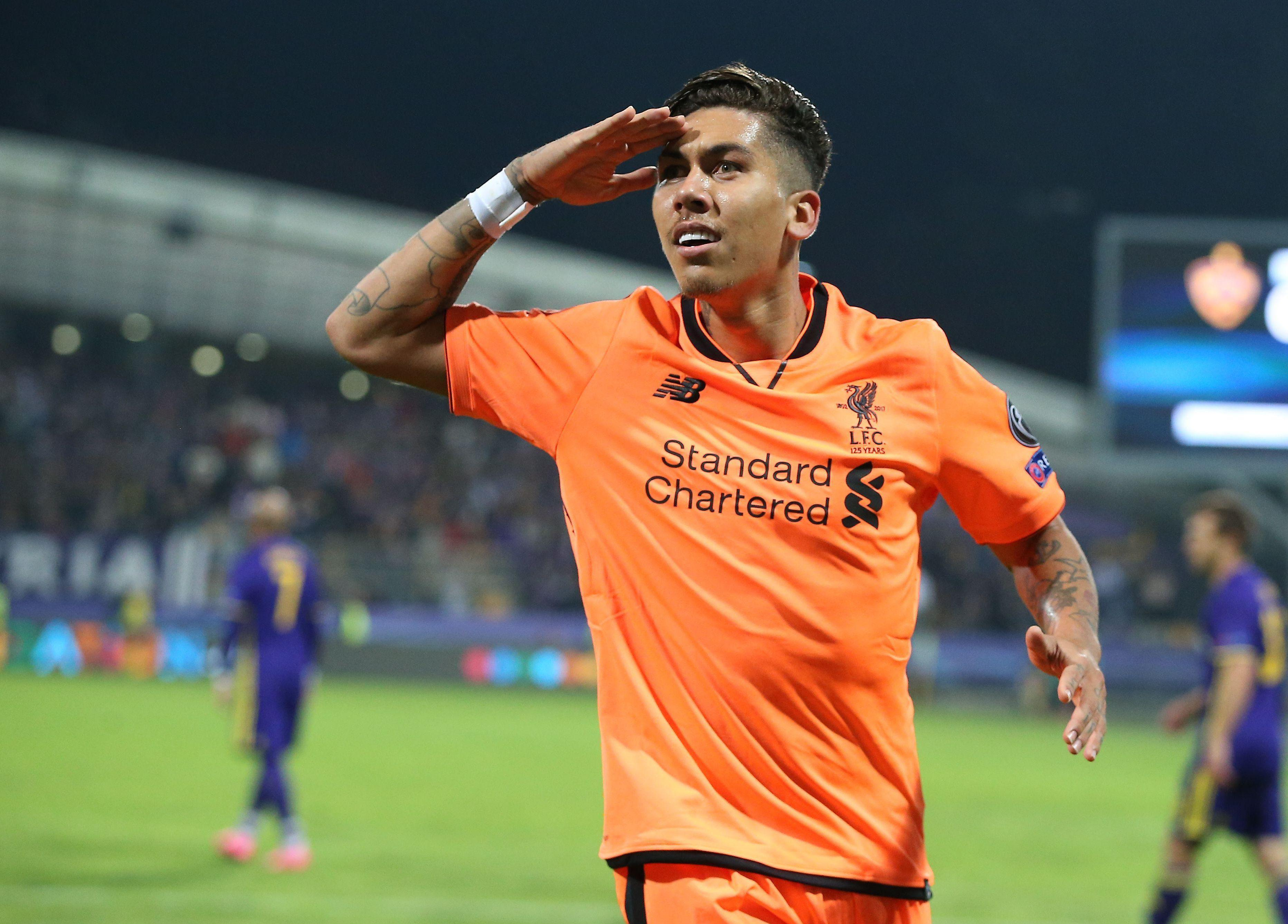 Robert Firmino was left red-faced moments before the Champions League clash in Maribor
