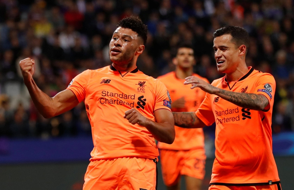 Oxlade-Chamberlain scored his first Liverpool goal