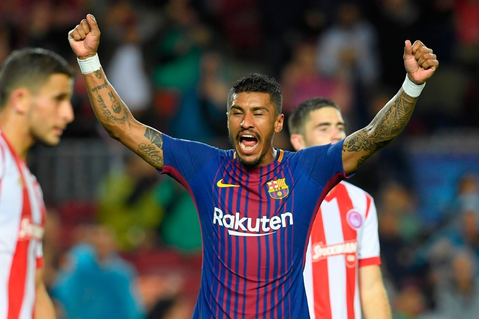 Inter Milan have been impressed by Paulinho's start to lift at Barcelona